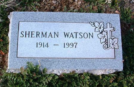 WATSON, SHERMAN - Yavapai County, Arizona | SHERMAN WATSON - Arizona Gravestone Photos