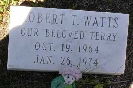 WATTS, ROBERT T. (TERRY) - Yavapai County, Arizona | ROBERT T. (TERRY) WATTS - Arizona Gravestone Photos