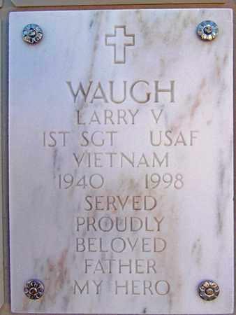WAUGH, LARRY VERNON - Yavapai County, Arizona   LARRY VERNON WAUGH - Arizona Gravestone Photos