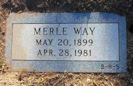 PHELPS WAY, MERLE P. - Yavapai County, Arizona | MERLE P. PHELPS WAY - Arizona Gravestone Photos