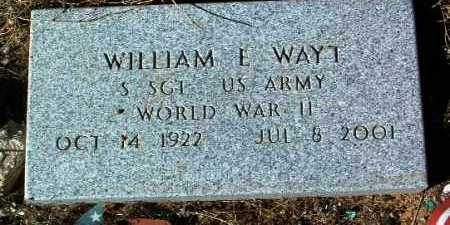 WAYT, WILLIAM E. - Yavapai County, Arizona | WILLIAM E. WAYT - Arizona Gravestone Photos