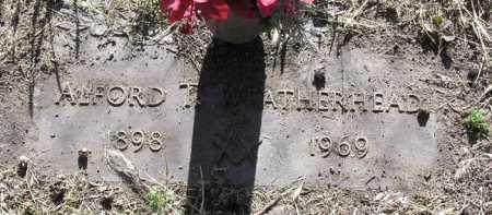 WEATHERHEAD, ALFORD T. - Yavapai County, Arizona | ALFORD T. WEATHERHEAD - Arizona Gravestone Photos