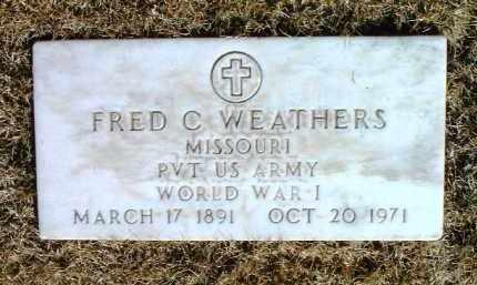 WEATHERS, FRED CHARLES - Yavapai County, Arizona | FRED CHARLES WEATHERS - Arizona Gravestone Photos