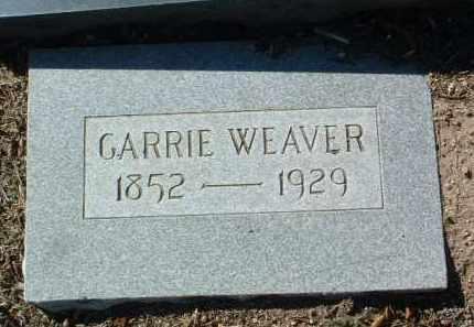 WEAVER, CARRIE - Yavapai County, Arizona | CARRIE WEAVER - Arizona Gravestone Photos