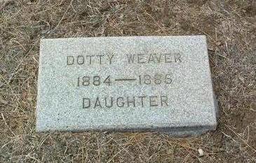 WEAVER, DOTTY - Yavapai County, Arizona | DOTTY WEAVER - Arizona Gravestone Photos