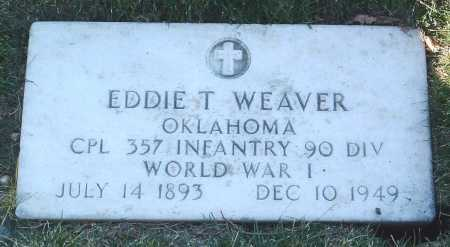 WEAVER, EDDIE T. - Yavapai County, Arizona | EDDIE T. WEAVER - Arizona Gravestone Photos