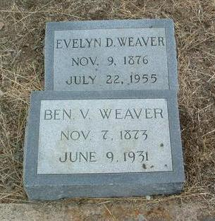 WEAVER, ROSE EVELYN - Yavapai County, Arizona | ROSE EVELYN WEAVER - Arizona Gravestone Photos