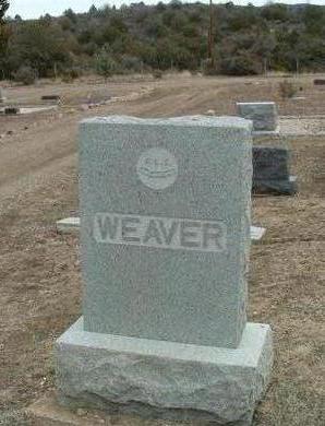 WEAVER, FAMILY HEADSTONE - Yavapai County, Arizona | FAMILY HEADSTONE WEAVER - Arizona Gravestone Photos