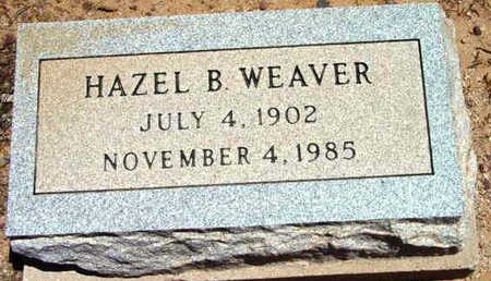 BARBEAU WEAVER, HAZEL - Yavapai County, Arizona | HAZEL BARBEAU WEAVER - Arizona Gravestone Photos
