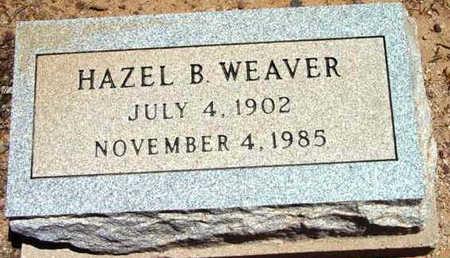 WEAVER, HAZEL B. - Yavapai County, Arizona | HAZEL B. WEAVER - Arizona Gravestone Photos