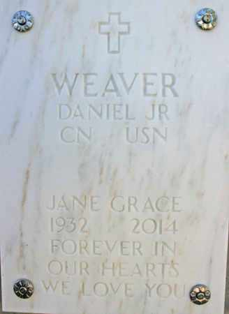 WEAVER, JANE GRACE - Yavapai County, Arizona | JANE GRACE WEAVER - Arizona Gravestone Photos