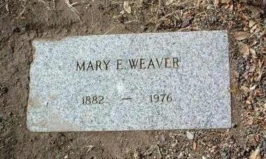 WEAVER, MARY EDITH - Yavapai County, Arizona | MARY EDITH WEAVER - Arizona Gravestone Photos