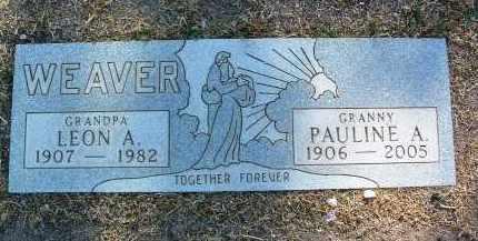 WEAVER, PAULINE ALICE - Yavapai County, Arizona | PAULINE ALICE WEAVER - Arizona Gravestone Photos