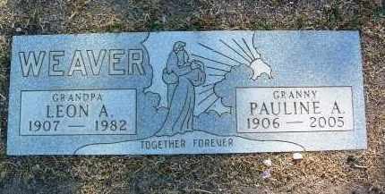 WUNDERLIN WEAVER, PAULINE ALICE (POLLY) - Yavapai County, Arizona | PAULINE ALICE (POLLY) WUNDERLIN WEAVER - Arizona Gravestone Photos