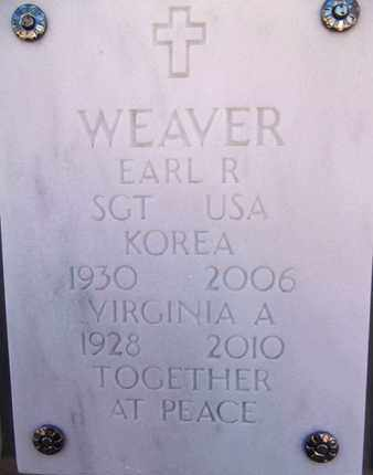 SEIGLE WEAVER, VIRGINIA A. - Yavapai County, Arizona | VIRGINIA A. SEIGLE WEAVER - Arizona Gravestone Photos