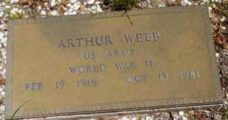 WEBB, ARTHUR - Yavapai County, Arizona | ARTHUR WEBB - Arizona Gravestone Photos