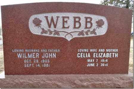 WEBB, CELIA ELIZABETH - Yavapai County, Arizona   CELIA ELIZABETH WEBB - Arizona Gravestone Photos