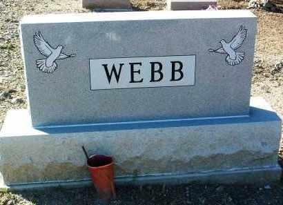 WEBB, FAMILY HEADSTONE - Yavapai County, Arizona   FAMILY HEADSTONE WEBB - Arizona Gravestone Photos