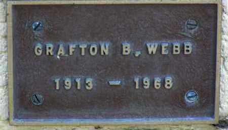 WEBB, GRAFTON B. - Yavapai County, Arizona | GRAFTON B. WEBB - Arizona Gravestone Photos