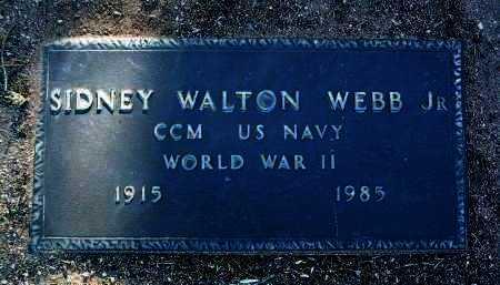 WEBB, SIDNEY WALTON, JR. - Yavapai County, Arizona   SIDNEY WALTON, JR. WEBB - Arizona Gravestone Photos