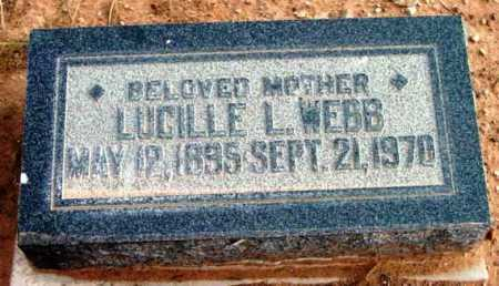 WEBB, LUCILLE LEE - Yavapai County, Arizona | LUCILLE LEE WEBB - Arizona Gravestone Photos