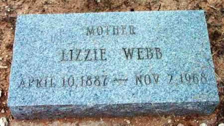 WEBB, LIZZIE - Yavapai County, Arizona | LIZZIE WEBB - Arizona Gravestone Photos