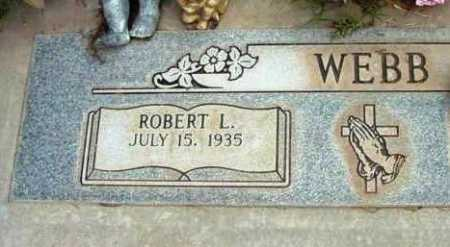 WEBB, ROBERT L. - Yavapai County, Arizona | ROBERT L. WEBB - Arizona Gravestone Photos
