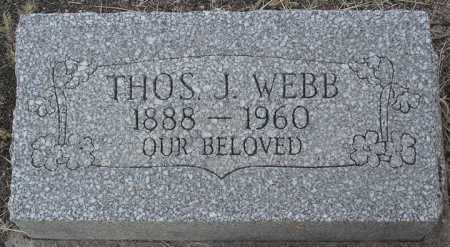 WEBB, THOMAS JEFFERSON - Yavapai County, Arizona | THOMAS JEFFERSON WEBB - Arizona Gravestone Photos