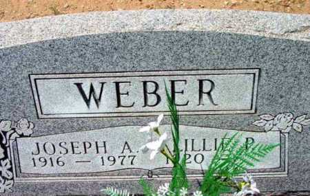 WEBER, JOSEPH ADAM - Yavapai County, Arizona   JOSEPH ADAM WEBER - Arizona Gravestone Photos