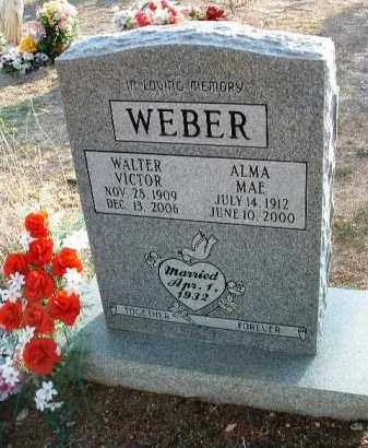 WEBER, ALMA MAE - Yavapai County, Arizona | ALMA MAE WEBER - Arizona Gravestone Photos