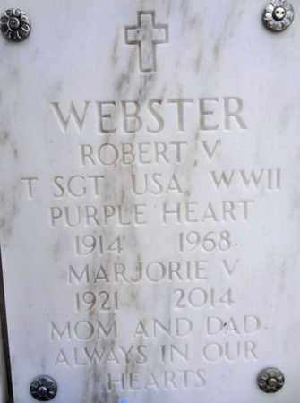 WEBSTER, ROBERT V. - Yavapai County, Arizona   ROBERT V. WEBSTER - Arizona Gravestone Photos