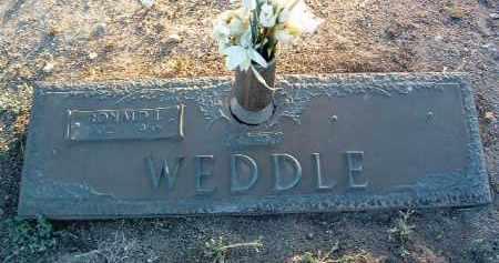 WEDDLE, RONALD ISAAC - Yavapai County, Arizona | RONALD ISAAC WEDDLE - Arizona Gravestone Photos