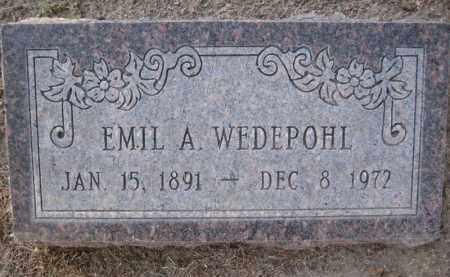 WEDEPOHL, EMIL AUGUST - Yavapai County, Arizona | EMIL AUGUST WEDEPOHL - Arizona Gravestone Photos