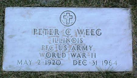 WEEG, PETER  C. - Yavapai County, Arizona | PETER  C. WEEG - Arizona Gravestone Photos