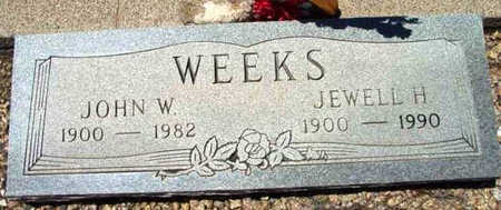 WEEKS, JOHN W. - Yavapai County, Arizona | JOHN W. WEEKS - Arizona Gravestone Photos
