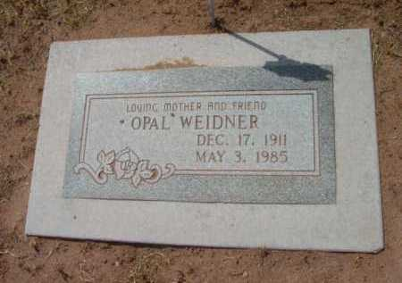 WEIDNER, OPAL - Yavapai County, Arizona | OPAL WEIDNER - Arizona Gravestone Photos