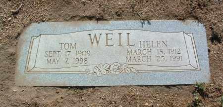 WEIL, THOMAS WILLIAM - Yavapai County, Arizona   THOMAS WILLIAM WEIL - Arizona Gravestone Photos