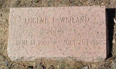 WEILAND, EUGENE E. - Yavapai County, Arizona | EUGENE E. WEILAND - Arizona Gravestone Photos