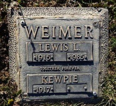 WEIMER, ETHEL B. (KEWPIE) - Yavapai County, Arizona | ETHEL B. (KEWPIE) WEIMER - Arizona Gravestone Photos