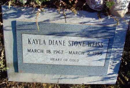 STONE WEISS, KAYLA DIANE - Yavapai County, Arizona | KAYLA DIANE STONE WEISS - Arizona Gravestone Photos