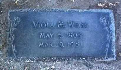 COLLINS WEISS, VIOLA M. - Yavapai County, Arizona | VIOLA M. COLLINS WEISS - Arizona Gravestone Photos