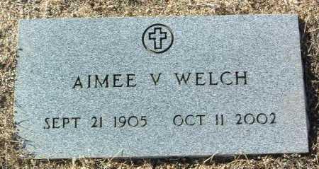 WELCH, AIMEE V. - Yavapai County, Arizona | AIMEE V. WELCH - Arizona Gravestone Photos