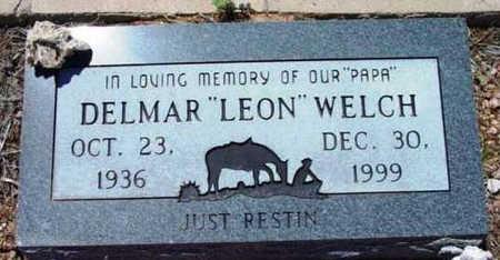 WELCH, DELMAR LEON - Yavapai County, Arizona | DELMAR LEON WELCH - Arizona Gravestone Photos