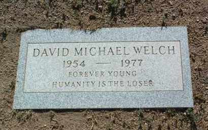 WELCH, DAVID MICHAEL - Yavapai County, Arizona | DAVID MICHAEL WELCH - Arizona Gravestone Photos