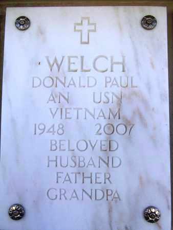 WELCH, DONALD PAUL - Yavapai County, Arizona | DONALD PAUL WELCH - Arizona Gravestone Photos
