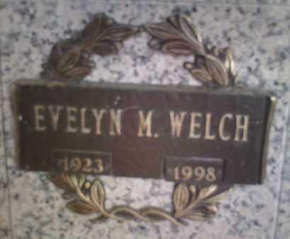 WELCH, EVELYN M. - Yavapai County, Arizona | EVELYN M. WELCH - Arizona Gravestone Photos
