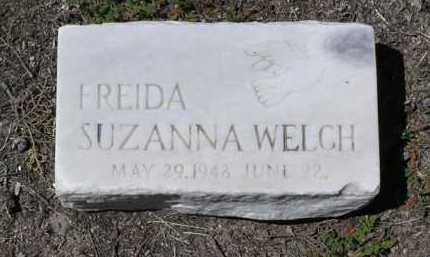 WELCH, FREIDA SUZANNA - Yavapai County, Arizona | FREIDA SUZANNA WELCH - Arizona Gravestone Photos