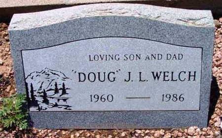 WELCH, J. L. DOUGLAS - Yavapai County, Arizona   J. L. DOUGLAS WELCH - Arizona Gravestone Photos