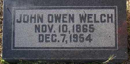 WELCH, JOHN OWEN - Yavapai County, Arizona | JOHN OWEN WELCH - Arizona Gravestone Photos