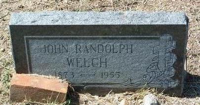 WELCH, JOHN RANDOLPH - Yavapai County, Arizona   JOHN RANDOLPH WELCH - Arizona Gravestone Photos